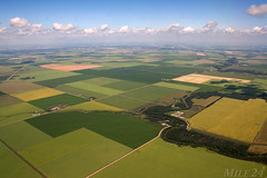 Manitoba (Mile 24 Travel Media) Tags: manitoba canada winnipeg aerial agriculture farm sky land nature photography travel tourism