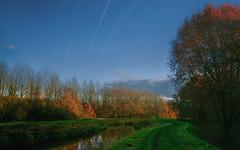 Sunday walk-2 (EbE_inspiration) Tags: landscape nikon blue stream sigma trees autumn