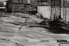 History. (hujanen53) Tags: lappeenranta suomi finland canon canoneos700d canonefs1855mmf3556isstm pitkävalotusaika longexposure longexposures skecthing piirustus photoshop photoshopped vesi water joutsenkoski koski blackandwhite bw mustavalko mustavalkoinen luonto nature kesä summer