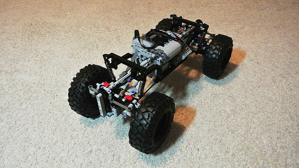 lego technic 4x4 crawler instructions