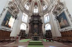 The Altar (Sebastian Niedlich (Grabthar)) Tags: salzburg church austria österreich nikon cathedral dom kirche sigma wideangle d90 salzburgcathedral salzburgerdom grabthar sebastianniedlich nikond90 sigmaex1020456dchsm