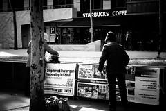 Starbucks (Latecomer (4tunesphotos)) Tags: street coffee melbourne places starbucks organharvesting