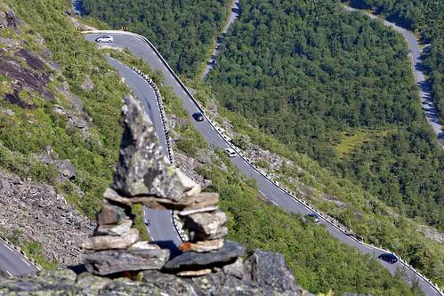 Trollstigen Road Serpentines