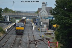 071 at Kildare, 18/9/15 (hurricanemk1c) Tags: irish train gm rail railway trains railways irishrail kildare generalmotors 2015 emd 071 iarnród éireann iarnródéireann ladentimber 1150claremorriswaterford