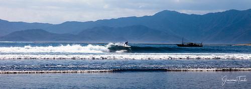 Surfing Nungas at Lakey Peak, Hu'u, Sumbawa Island, Indonesia (August 2015)