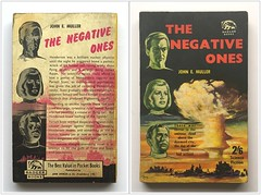 The Negative Ones by John E. Muller (unsubscribed blog) Tags: art book paperback cover vintagescifi vintagesciencefiction vintagesf unsubscribedblog