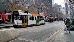 Melbourne Z3 Class Tram - 202 (Jungle Jack Movements (ferroequinologist)) Tags: travel passenger driver fare conductor ptv metro tramway tramline light rail urban city ticket bourke swanston myki z3 melbourne tram authority victoria australia z class single unit bogie trams subclasses dandenong gothen burg ansair comeng siemens asea mtb z1 z2 duewag bogies door beclawat acceleration braking brake performance aeg preston workshop workshops service yarra public transport advertise advertising livery liveries brunswick essendon glenhuntly malvern 202 trolley cablecar ttc john capital ss jungle jack traveller