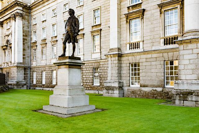 ireland dublin university sony trinitycollege william murphy olivergoldsmith streetsofdublin infomatique zozimuz a7rm2 ilcea7rm2