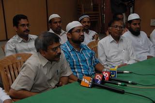 Muslim United Front Andhra Pradesh President Habeeb Ur Rehman addressing the Press Meet on Babri Masjid Judgement day 3