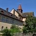 Enclos abbatial, abbaye de Fischbeck (XIIe-XIIIe), Hessissch Oldendorf, Hamelin-Pyrmont, Basse-Saxe, Allemagne.