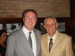 Edgard Hermelino Leite Junior e Paulo Planet Buarque, consultor do escritório. (2006)
