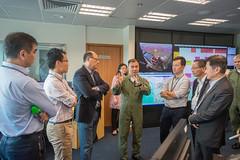 Visit of Panel to the Government Flying Service (2015.10.07) (www.legco.gov.hk) Tags: hanger gfs governmentflyingservice       honkwokwaikeung   honipkwokhim drhonlamtaifai honchanchichuen   honngleungsing honmafungkwok honyiusiwing