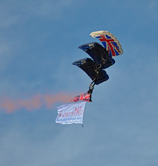 Tigers Freefall Team (littlestschnauzer) Tags: show uk team display air september tigers southport parachute freefall 2015