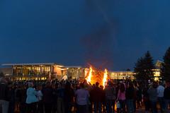 Homecoming at Colorado State University (ColoradoStateUniversity) Tags: events rally homecoming bonfire alumni pep peprally