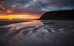 St Bees sunset (Ade G) Tags: light sunset seascape clouds