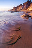 Swirl   Bowling Ball Beach, California (v on life) Tags: california longexposure sunset beach water rocks waves mendocino bowlingballbeach schoonergulch