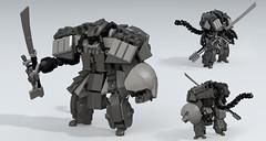 The Elder One (Garry_rocks) Tags: lego alien mecha hardsuit