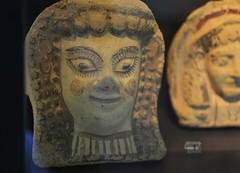 (orientalizing) Tags: italy female ceramic terracotta sicily sanctuary archaic archaeologicalmuseum citadella antefix aidone archaia cultmaterial