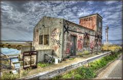Cagliari # 2  ( saline abbandonate ) (celestino2011) Tags: sardegna strada nuvole cielo acqua cagliari casolare chiuse abbandono