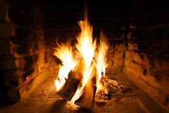 The Fireplace (alexanderfilipich) Tags: wood chimney canon fire eos fireplace flames burning 7d sparks 1022mm