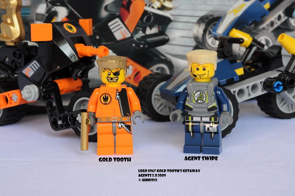 Jeux De Construction Getaway Agents Lego Dent Dor 8967 Jeux De