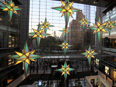 Stars over the shops (DC Products) Tags: christmas newyorkcity decorations newyork timewarnercenter 2015