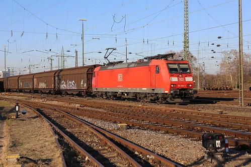 DB Schenker 185 096-5 Basel Bad Bhf