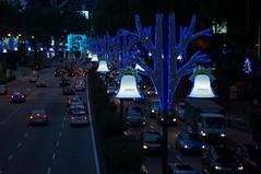 DSC03158 (oliveplum) Tags: christmas singapore traffic sony lightings scottsroad spiritofphotography leica60f28macro