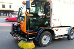 streetsweeper (rozannalilley) Tags: streetsweeper