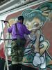 Shiro : performance live rue Drouot le 05-12-2015 (Archi & Philou) Tags: streetart live performance exhibition exposition shiro drouot paris09 digard