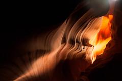 Upper Antelope Canyon Grainy Dec 27 2015 Bear Formation-3499 (houstonryan) Tags: arizona art nature print lens landscape photography utah carved nikon sandstone photographer ryan cut nation houston az canyon tokina erosion upper photograph page antelope navajo redrock slot narrow flashflood 1118mm d300s houstonryan hosutonryan pohtograph