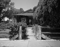 Rose Gate (FilmAmmo) Tags: paulhargett filmammo haysks pentax6x7 mediumformat 120 ilfordpanf film