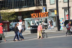 Frailty (roshangun) Tags: people elder frail street city