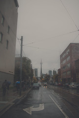 Toronto October 21, 2016 (A Great Capture) Tags: foggy october rainy overcast cntower grey agreatcapture agc wwwagreatcapturecom adjm toronto on ontario canada canadian photographer northamerica ash2276 ashleylduffus ald mobilejay jamesmitchell fall autumn automne herbst 2016 rain raining umbrella people car cars fog mist building buildings wet water city downtown lights urban cityscape urbanscape eos digital outdoor outdoors architecture
