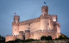 Manzanares El Real Castle (Ignacio Ferre) Tags: spain espaa castillo castle manzanareselreal madrid nikon sunset atardecer ngc