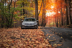 Autumn Passat (Luke Plonka) Tags: autumn car epic colors leaves passat vw vag nice nikon d800e 50mm luke plonka sigma art 14 5014 poland forrest road german tsi low compsport