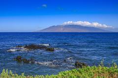 West Maui (milepost430media.com) Tags: maui hawaii paradise ocean pacific waves blue sky water green clouds mountain lava volcano tourism tourist travel journey vacation beautiful landscape sea wailea kehei 70d dslr rocks