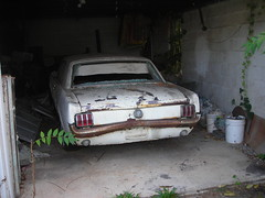 RUST-Tang (bike-R) Tags: mustang cars 1960s garage restorations ford barnfinds abandoned
