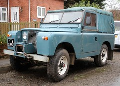 HTW 535B (2) (Nivek.Old.Gold) Tags: 1964 land rover 88 series 2a softtop 3528cc