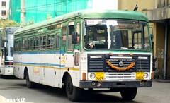 Belgaon  Mumbai  @mct (kumark9702) Tags: msrtc st