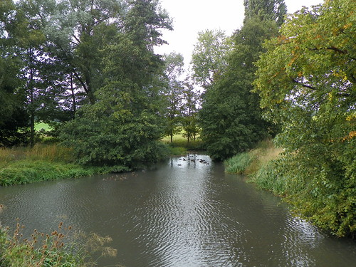 River Beane, Woodhall Park, Watton-at-Stone