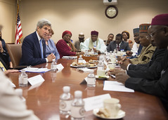 Secretary Kerry Meets With Northern Governors from Nigeria in Washington (U.S. Department of State) Tags: johnkerry nigeria