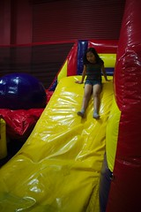 1349 Downhill (mliu92) Tags: calcifer son birthday party pumpitup belmont figgy daughter
