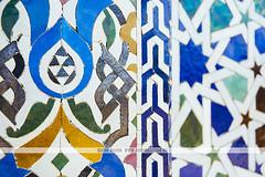 Mosque Hassan - Rabat, Morocco (Naomi Rahim (thanks for 2 million hits)) Tags: rabat morocco africa northafrica 2016 travel travelphotography nikon nikond7200 wanderlust architecture pattern moorish design arabic tiles blue gold mosquehassan mausoleumofmohammedv  pretty