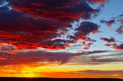 DSC_0936-938 yavapai point sunset hdr 850 (guine) Tags: grandcanyon grandcanyonnationalpark canyon rocks clouds sunset hdr qtpfsgui luminance