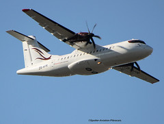 Afrijet Business Service. South African company. (Jacques PANAS) Tags: afrijet business service atr 42500 zsafr msn643