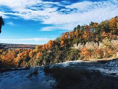 Ithaca 2 (Eve Mahaney) Tags: mine iphone ithaca ny new york nature scenery water sky trees