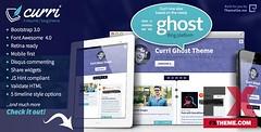 Preview Curri Ghost ThemeBlogging Darion Monroe (ElizabethEstrada) Tags: blogtemplates cleantemplates cvtemplates ghosttemplates mobilefirsttemplates purpletemplates responsivetemplates retinatemplates timeline