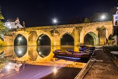 River Boats (Ian C Sanderson) Tags: durham wear boats riverbaots boating countydurham water elver bridge elvetbridge uk endgland longexposure