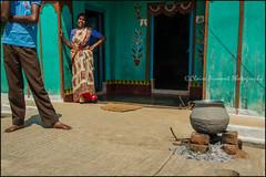 Home.  Somnathpur (Claire Pismont) Tags: asie asia inde india travel travelphotography documentory pismont clairepismont home house colorful couleur color colour cook cooking voyage viajar village couple somnathpur karnataka